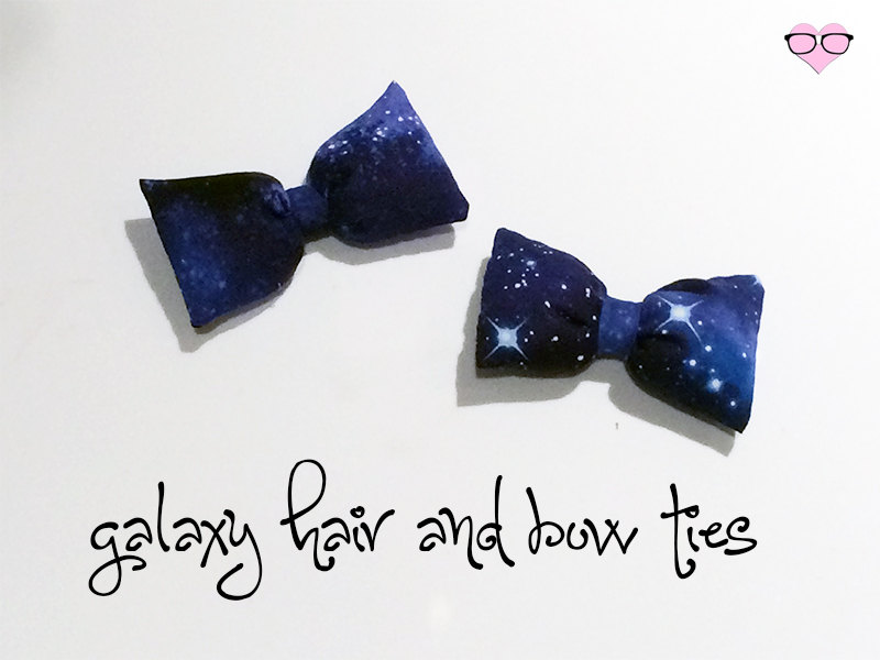 Galaxy Hair and Bowties