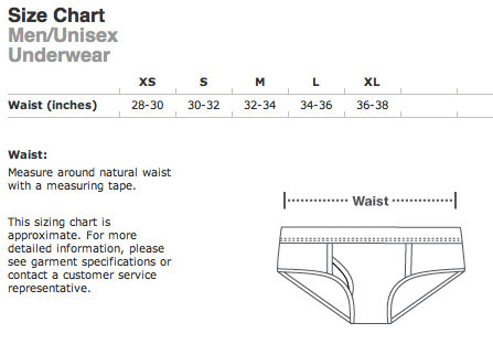 Hobbit Hole Underwear size  EXTRA SMALL