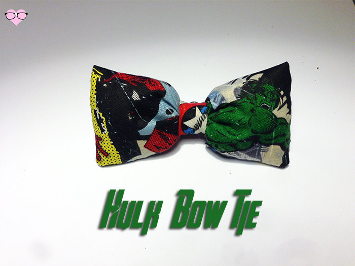 Hulk Bow Tie
