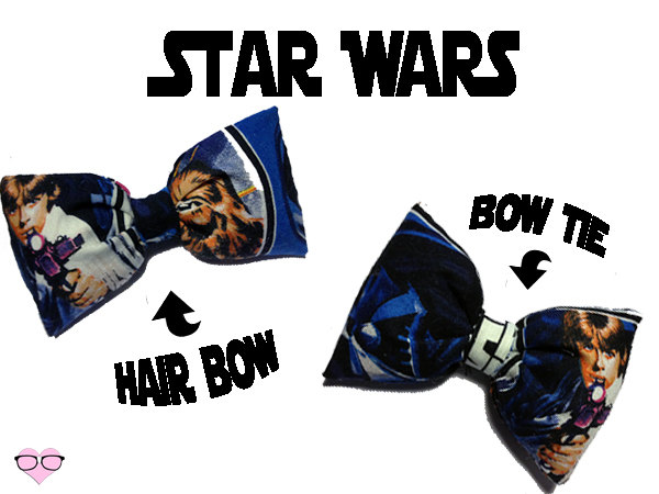 Luke Skywalker Hair and Bow Tie