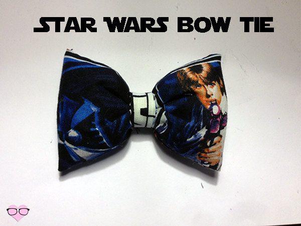 Luke Skywalker Hair and Bow Tie