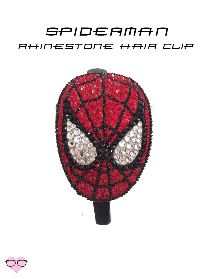Spiderman Rhinestone Head band