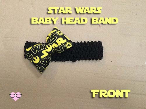 Star Wars baby head band