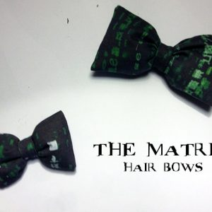 The Matrix Hair Bows