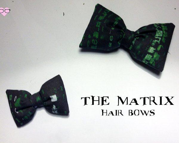 The Matrix Hair Bows