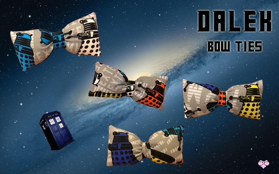 Dr. Who Bow Tie
