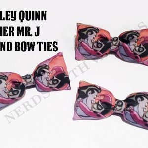 Harley Quinn And Her Mr.J Bow Tie / Hair Bow