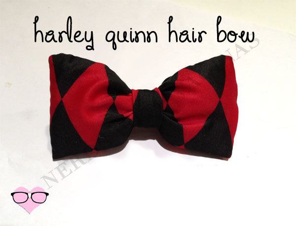 Harley Quinn Hair Bow