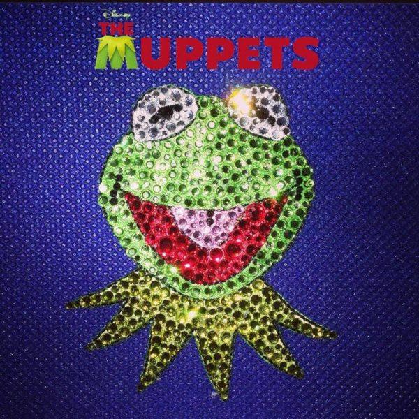 Kermit The Frog Rhinestone Hair Clip